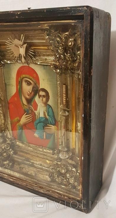 Икона Матерь Божья, образ пресвятой Богородицы. Большой размер., фото №5