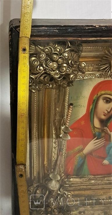 Икона Матерь Божья, образ пресвятой Богородицы. Большой размер., фото №7
