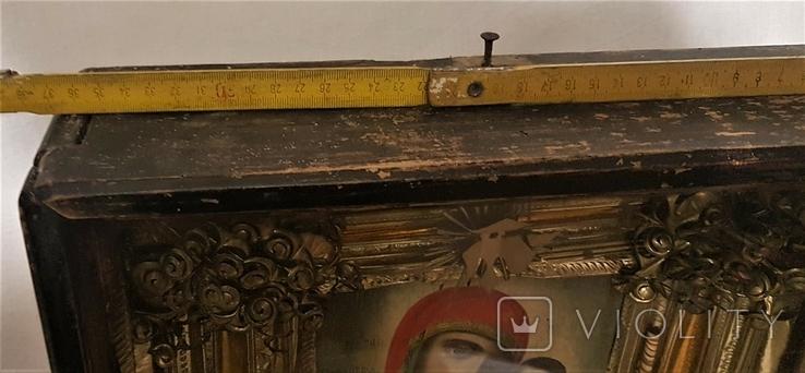 Икона Матерь Божья, образ пресвятой Богородицы. Большой размер., фото №8