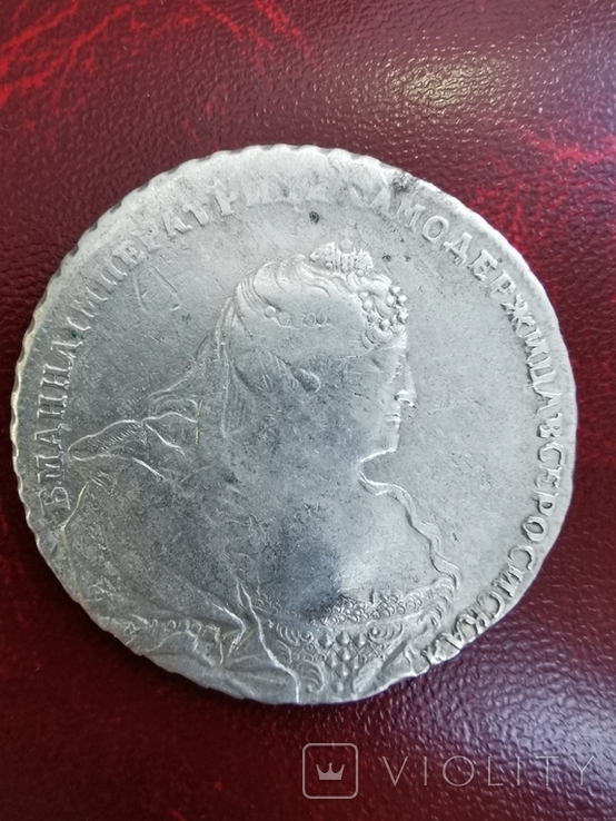 Рубль 1738