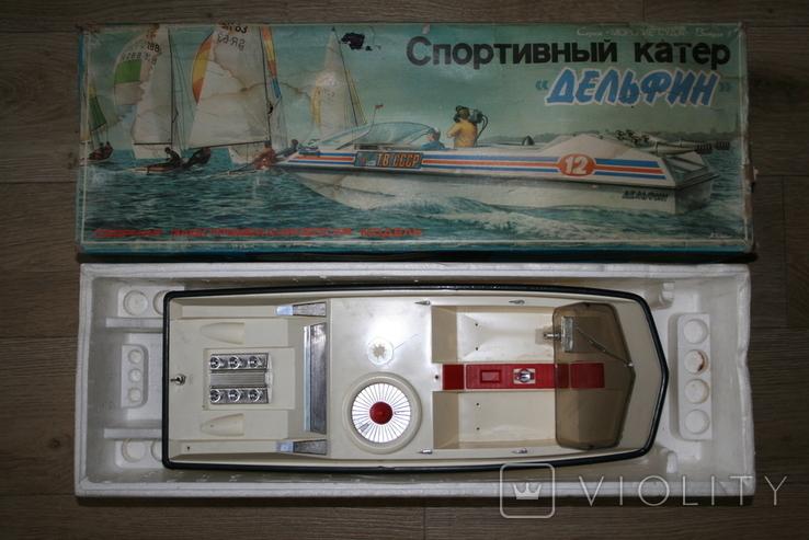 """Спортивный катер """"ДЕЛЬФИН"""" СССР, фото №2"""