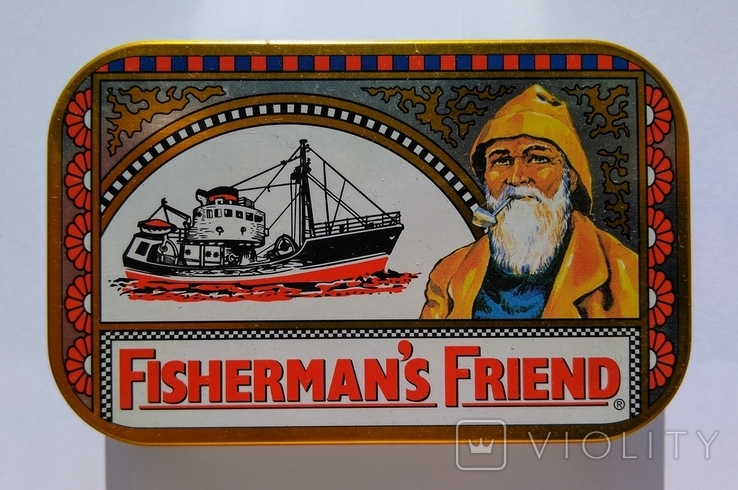 """Коробка от конфет """"Fishermans Friend"""" Англия, фото №2"""
