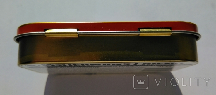 """Коробка от конфет """"Fishermans Friend"""" Англия, фото №11"""