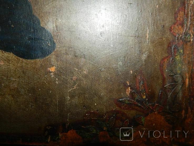 Икона Коронование Пресвятой Богородицы (XIX) в., фото №4