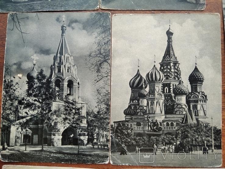 Памятные места Москвы 26 шт, 1957г., фото №5
