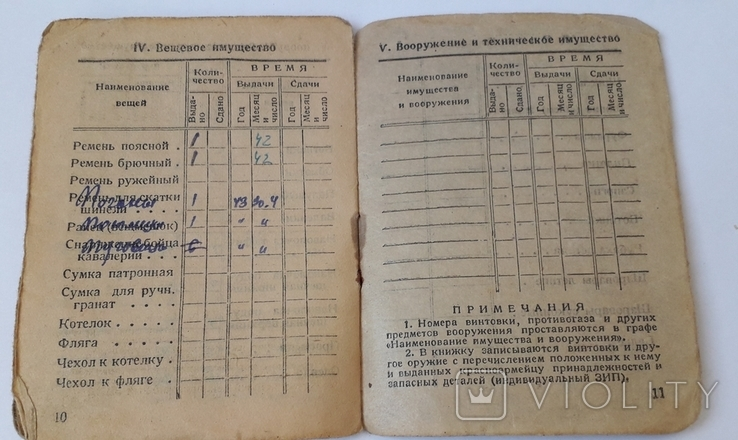 Красноармейская книжка, фото №7