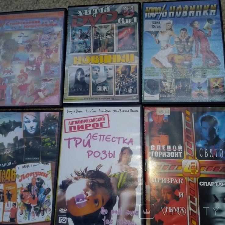 23 dvd диска +dvd плеер одним лотом, фото №5