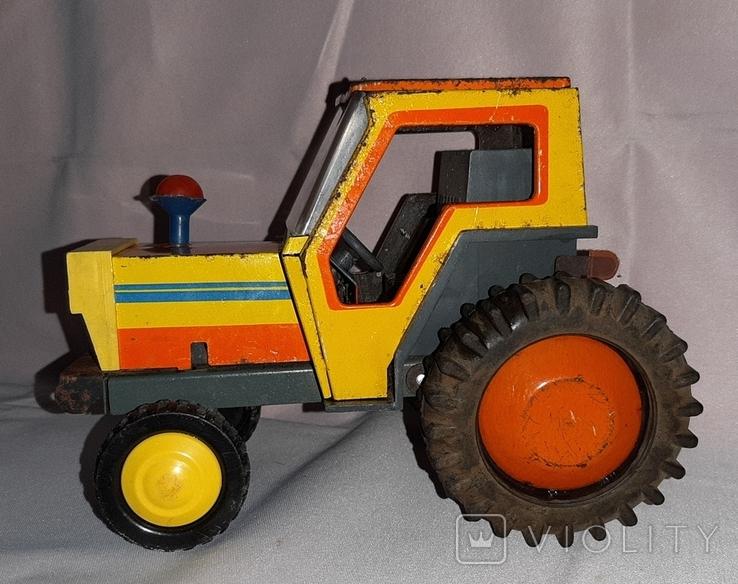 Заводная игрушка Трактор Ссср, фото №2