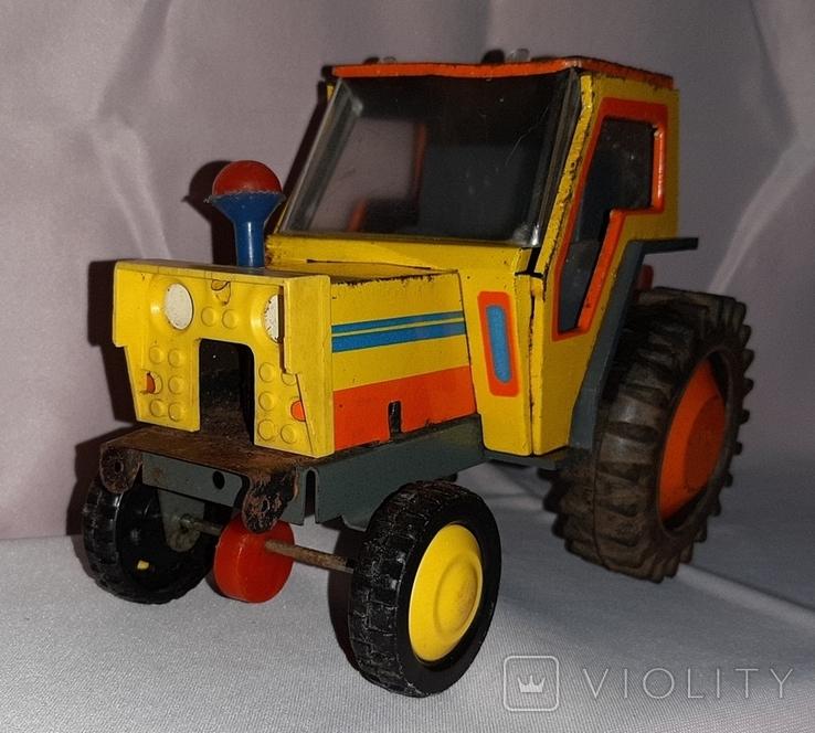 Заводная игрушка Трактор Ссср, фото №4