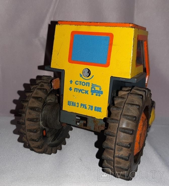 Заводная игрушка Трактор Ссср, фото №5