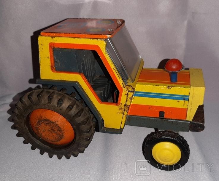 Заводная игрушка Трактор Ссср, фото №7