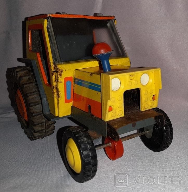 Заводная игрушка Трактор Ссср, фото №8