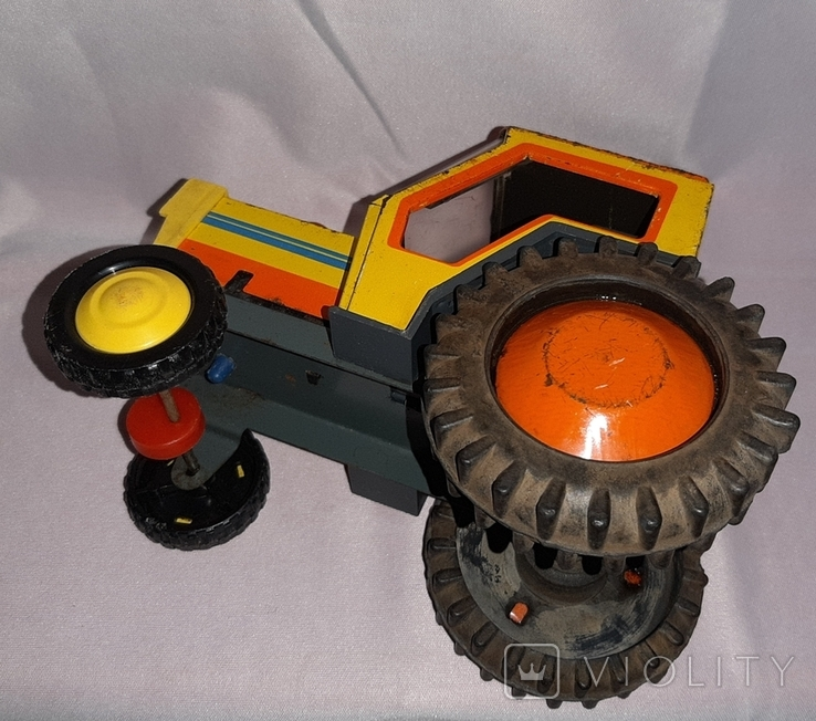 Заводная игрушка Трактор Ссср, фото №11