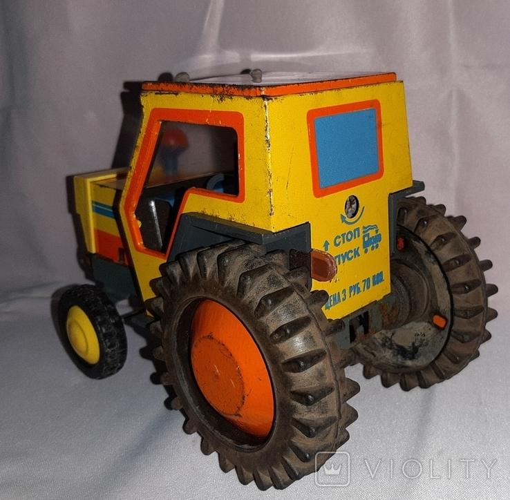Заводная игрушка Трактор Ссср, фото №12