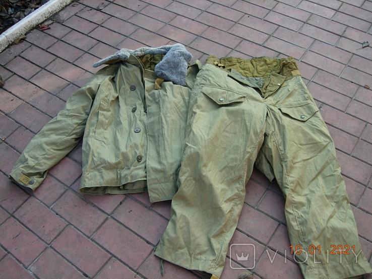 Бушлат танковый +ватные штаны.50 размер., фото №3