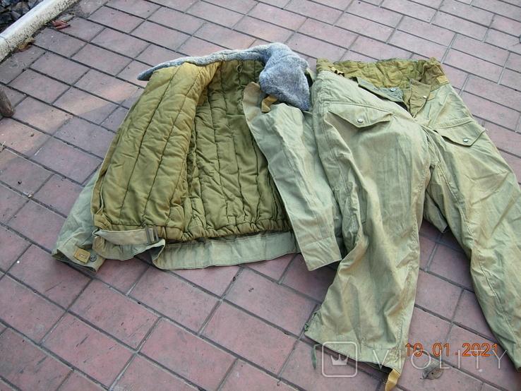 Бушлат танковый +ватные штаны.50 размер., фото №4