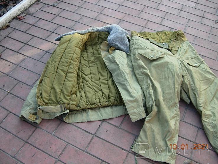 Бушлат танковый +ватные штаны.50 размер., фото №5