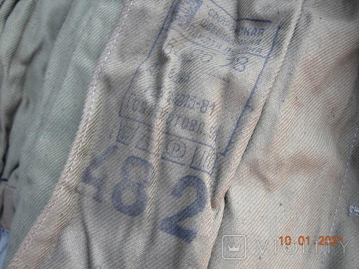 Бушлат танковый +ватные штаны.50 размер., фото №2