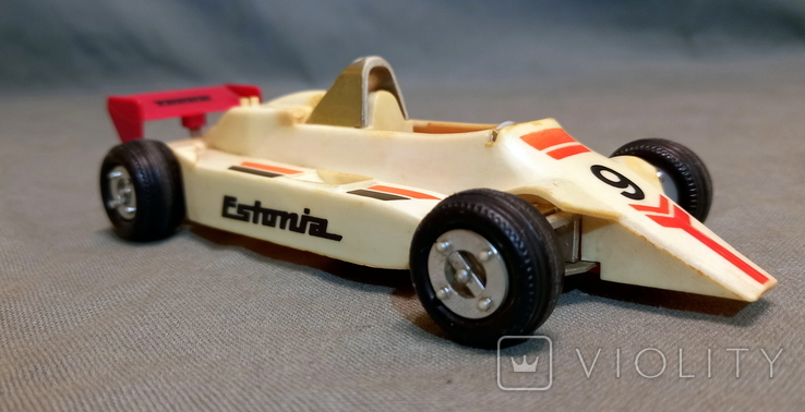 Машинка СССР Формула-1 Norma Норма Эстония Длина 16 см Ширина 7,5 см, фото №2