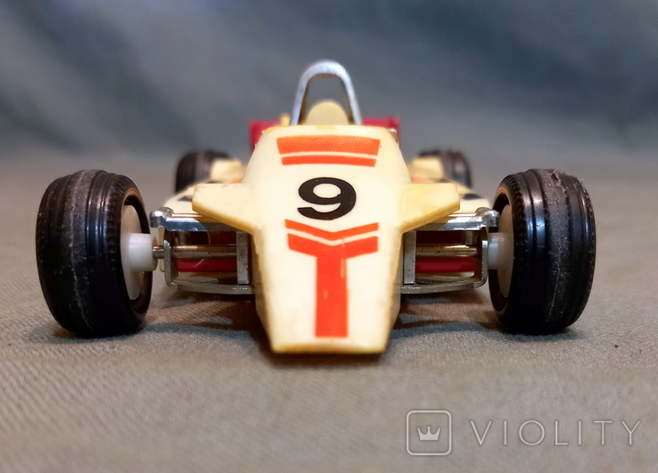 Машинка СССР Формула-1 Norma Норма Эстония Длина 16 см Ширина 7,5 см, фото №3