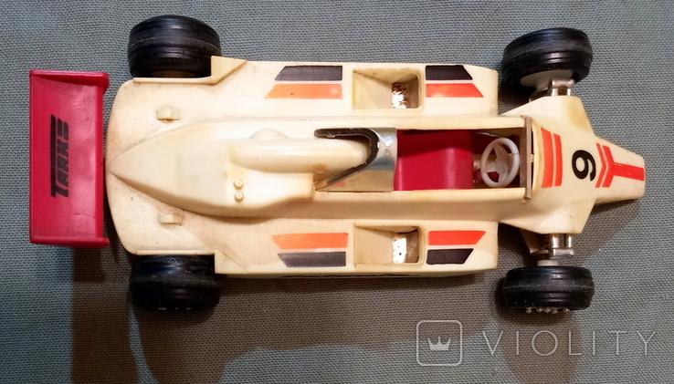 Машинка СССР Формула-1 Norma Норма Эстония Длина 16 см Ширина 7,5 см, фото №7