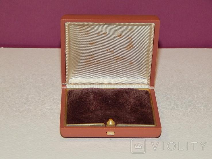Старая коробочка из-под серёжек СССР, фото №3