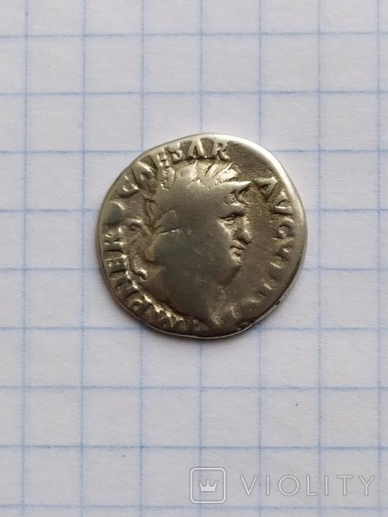 Денарий Нерона, фото №3