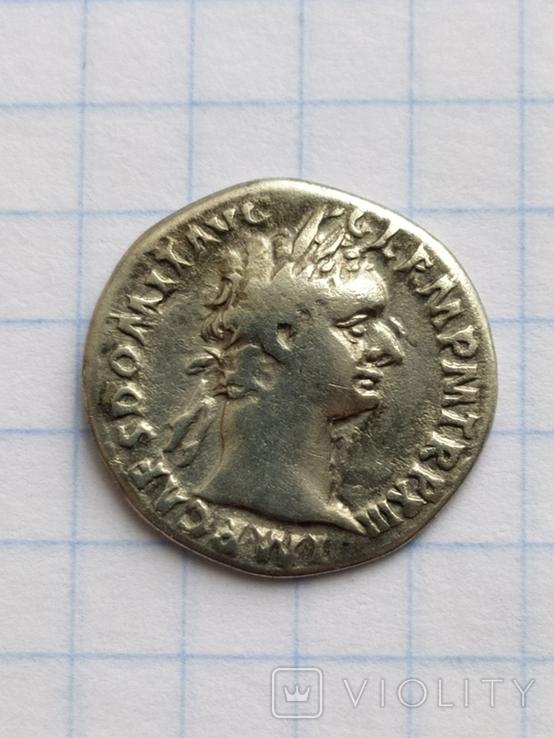 Денарий Домициана, фото №2