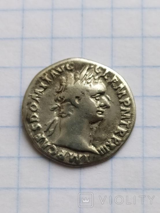 Денарий Домициана, фото №3