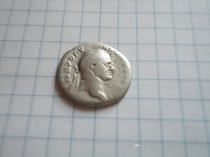 Денарий Веспасиана 73 г н э, фото №4