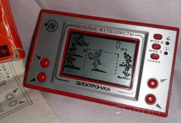 Игра Веселые Футболисты Электроника ИМ 22, фото №4