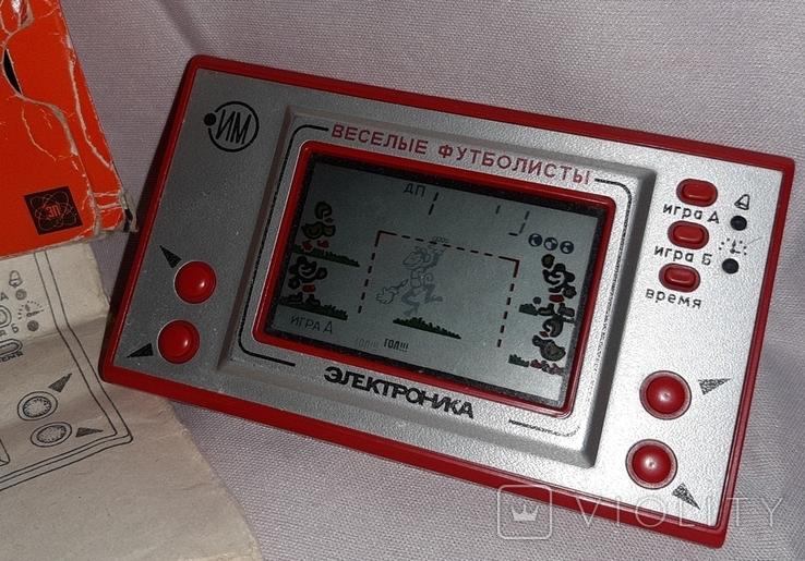 Игра Веселые Футболисты Электроника ИМ 22, фото №5