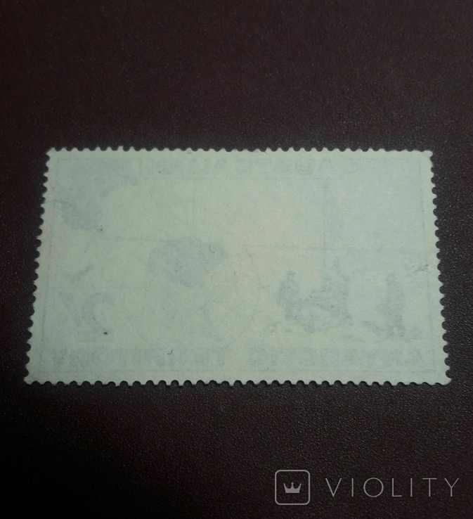 Марка 1957 г. Антарктические территории Австралии, фото №3