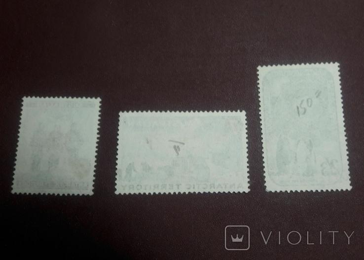 Серия марок 1959 г. Антарктические территории Австралии, фото №3