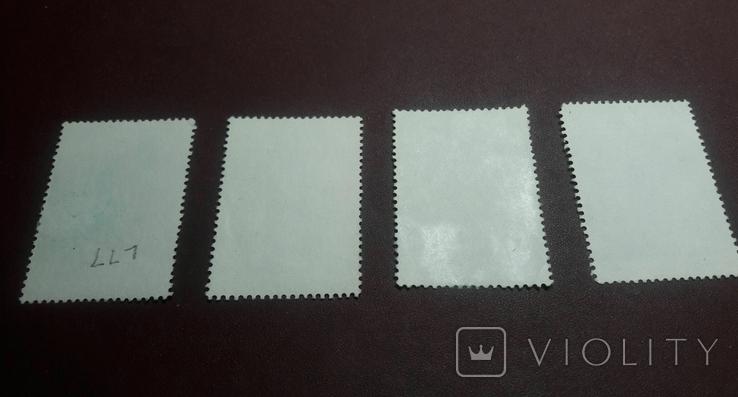 Серия марок 1989 г. Антарктические территории Австралии, фото №4
