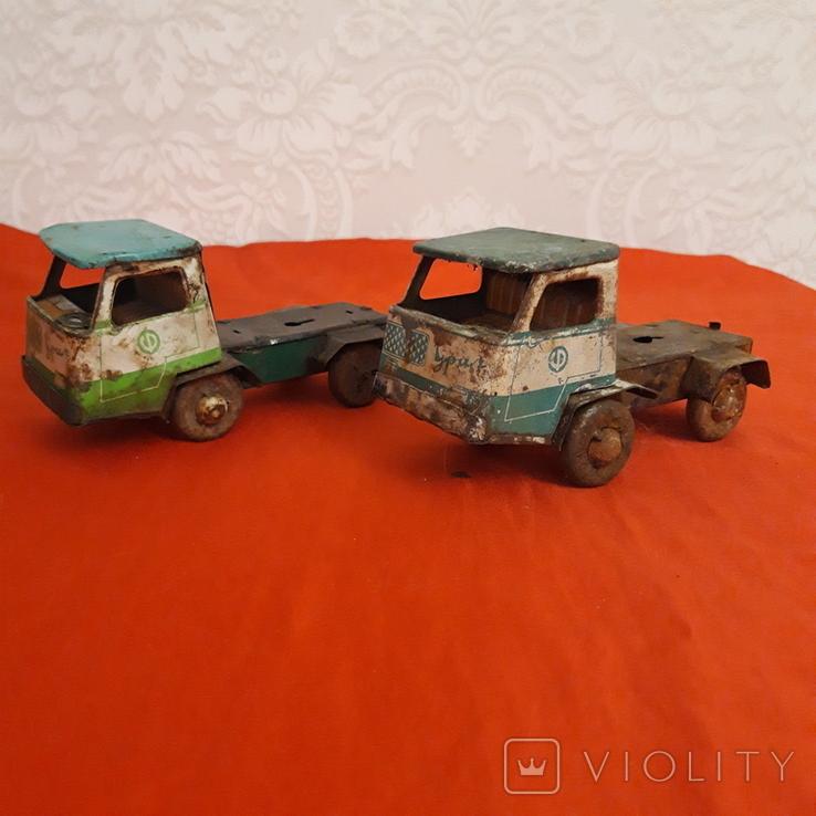 Машинки СССР два Уральца без прицепов, фото №3