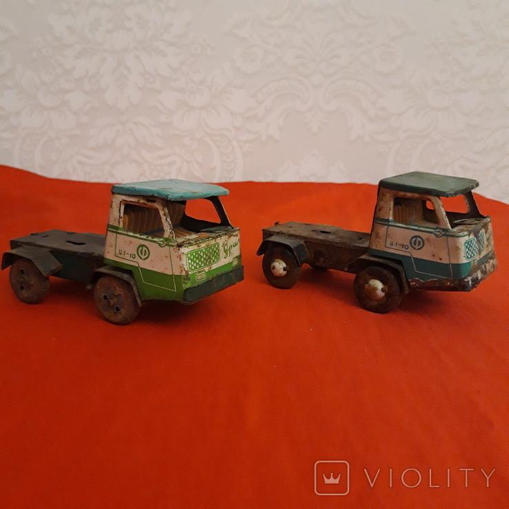 Машинки СССР два Уральца без прицепов, фото №2