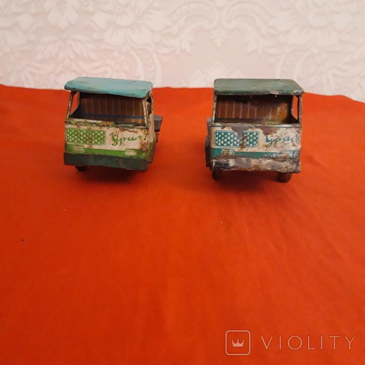 Машинки СССР два Уральца без прицепов, фото №5