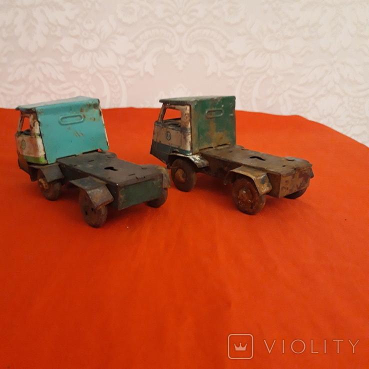 Машинки СССР два Уральца без прицепов, фото №6