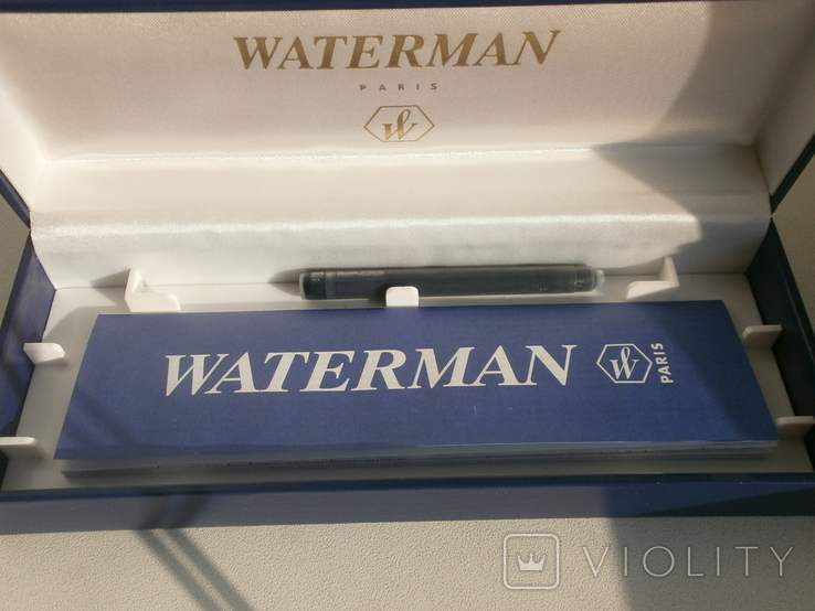 Ручка  Waterman №12053 Новая, фото №5
