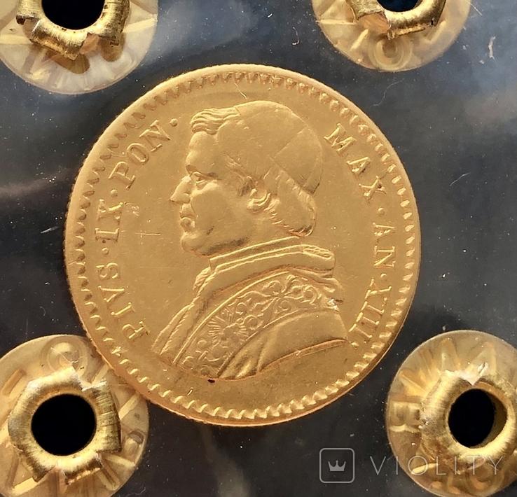 Папська Держава, 2,5 ескудо, 1856 р.