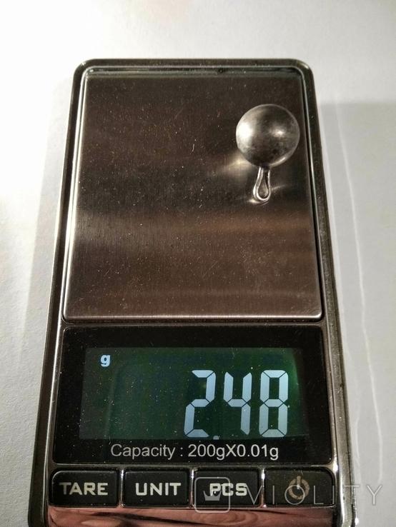 Серебряная пуговица, фото №6