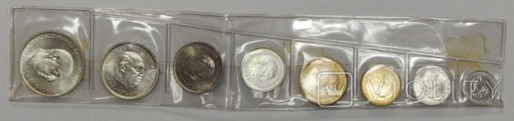 Набор монет Испании, 1957/60 г.г., фото №2