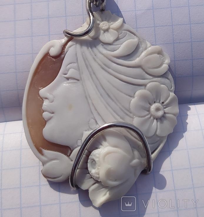 Кулон с камеей, Италия., фото №5