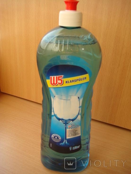 Ополаскиватель для посудомойки W5, 1 л, фото №2