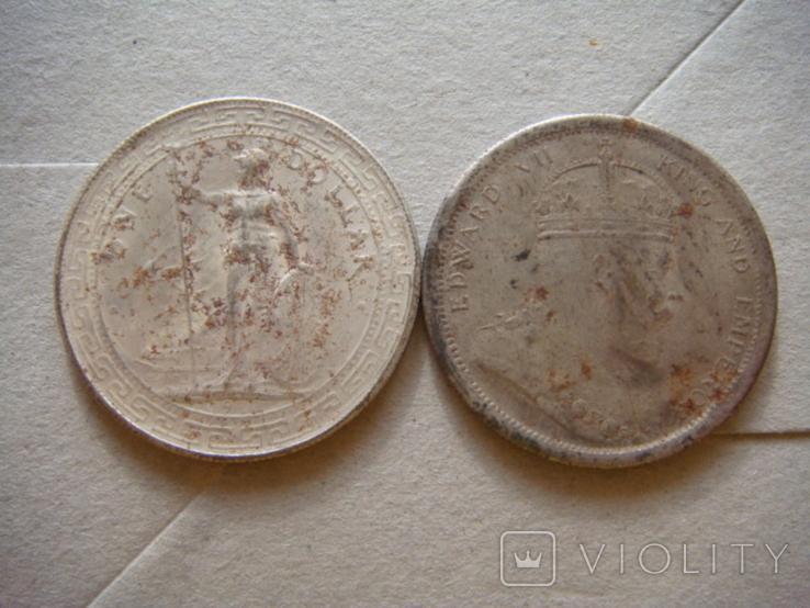 Два торговых доллара США копии, фото №3