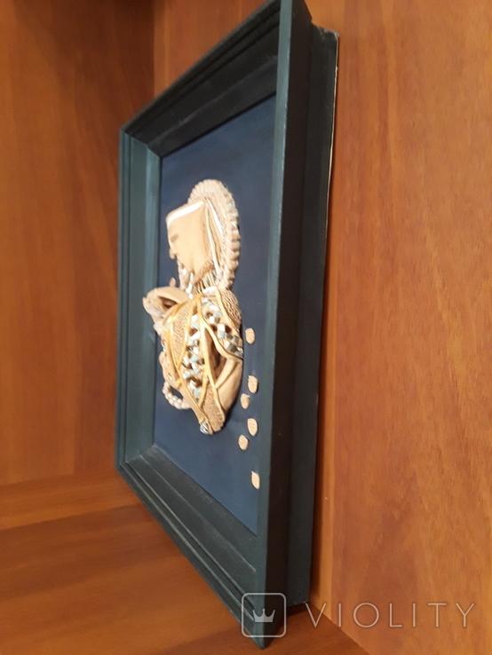 Картина нежность керамика, фото №5