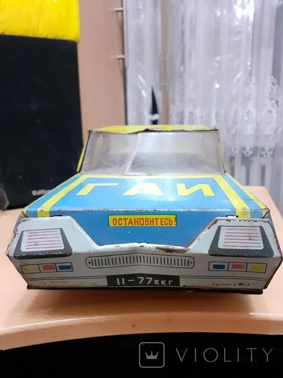 Игрушка автомобиль машина ГАИ Милиция Кубань, фото №7