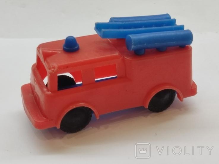 Машинка игрушка Пожарная машина времён СССР, фото №2