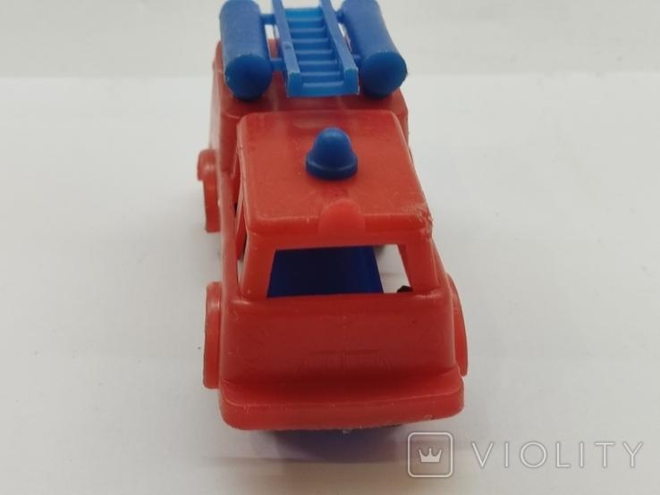 Машинка игрушка Пожарная машина времён СССР, фото №4
